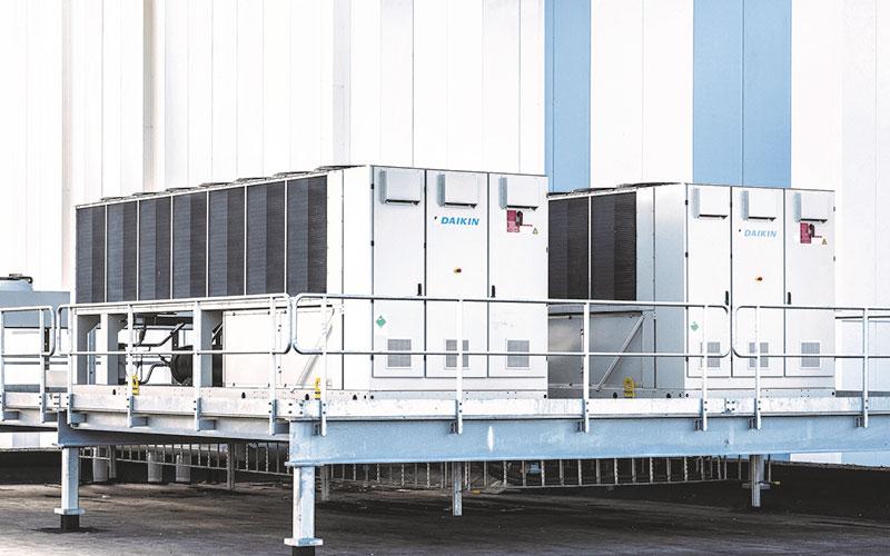 Klimaanlagen für die Industrie